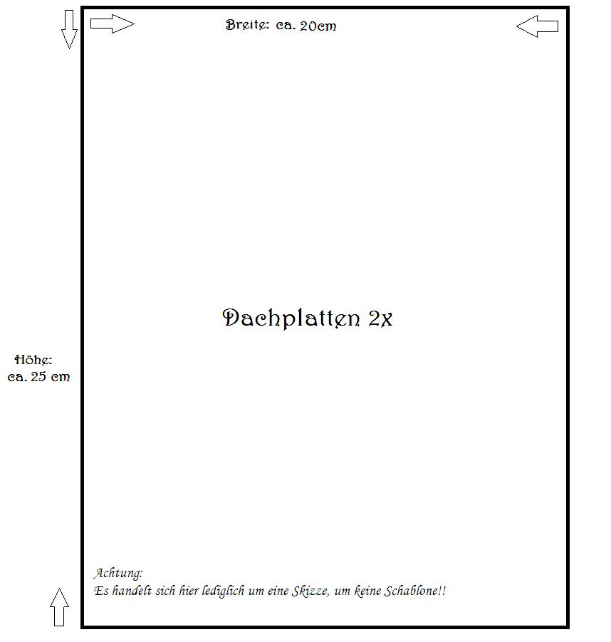 Rezept: Lebkuchenhaus - Hexenhaus - Knusperhäuschen