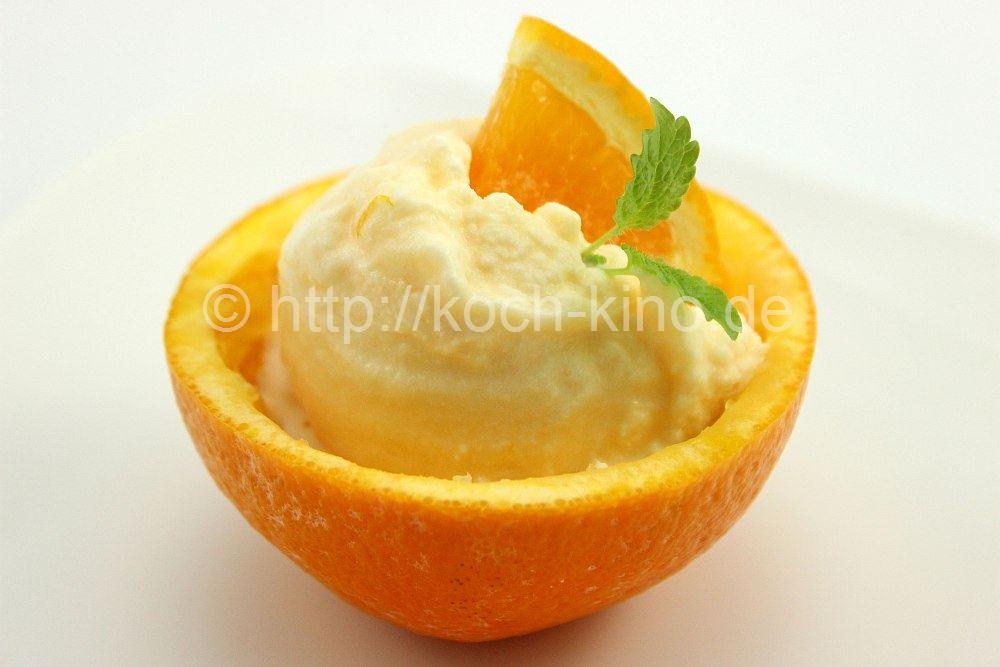 Rezept Orangen Eis Fruchtig Cremig Ohne Ei
