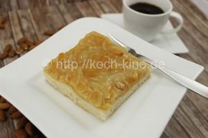 honig mandel blechkuchen