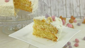 Kokos sahne torte