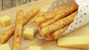 Käse-Knusperstangen