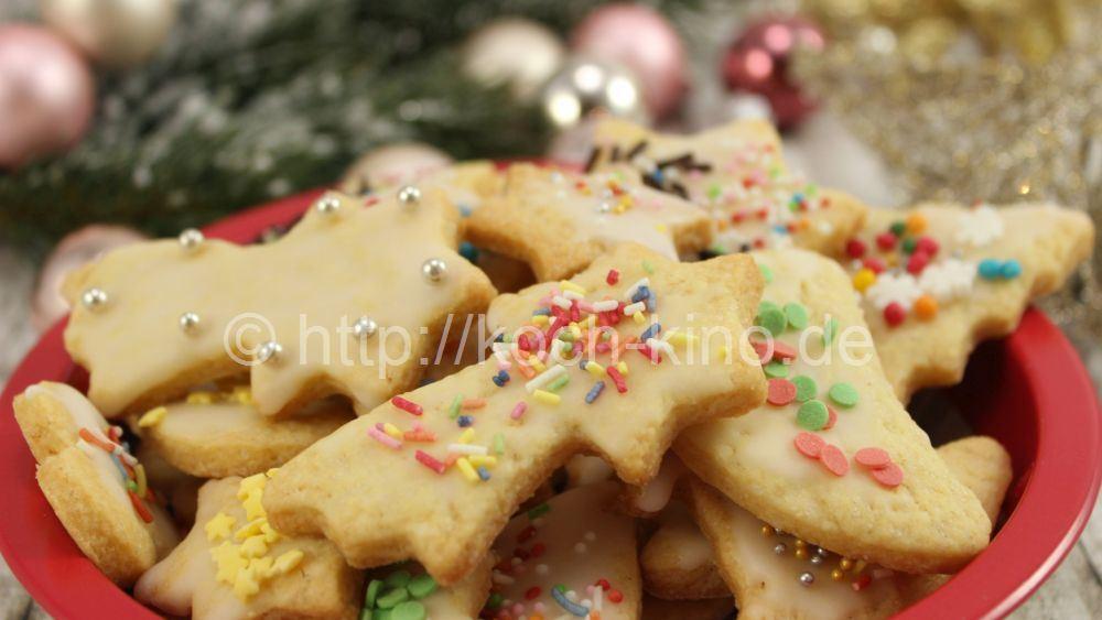 Rezept Ausstechplätzchen Weihnachtskekse Backen