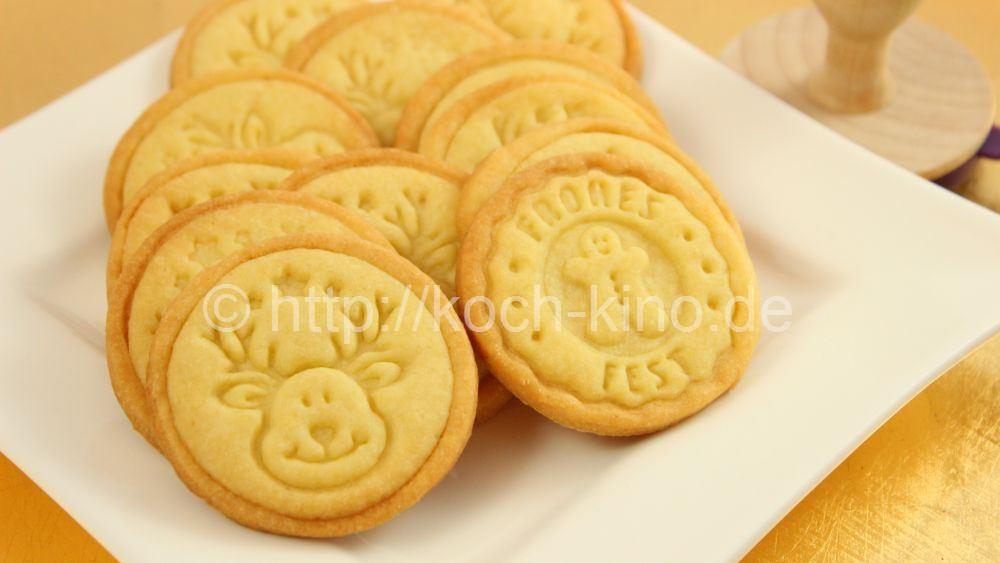 Rezept kekse stempel