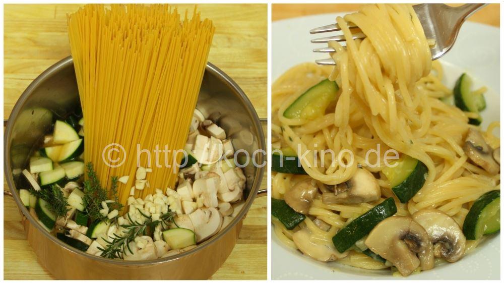 Rezept fur pasta mit zucchini