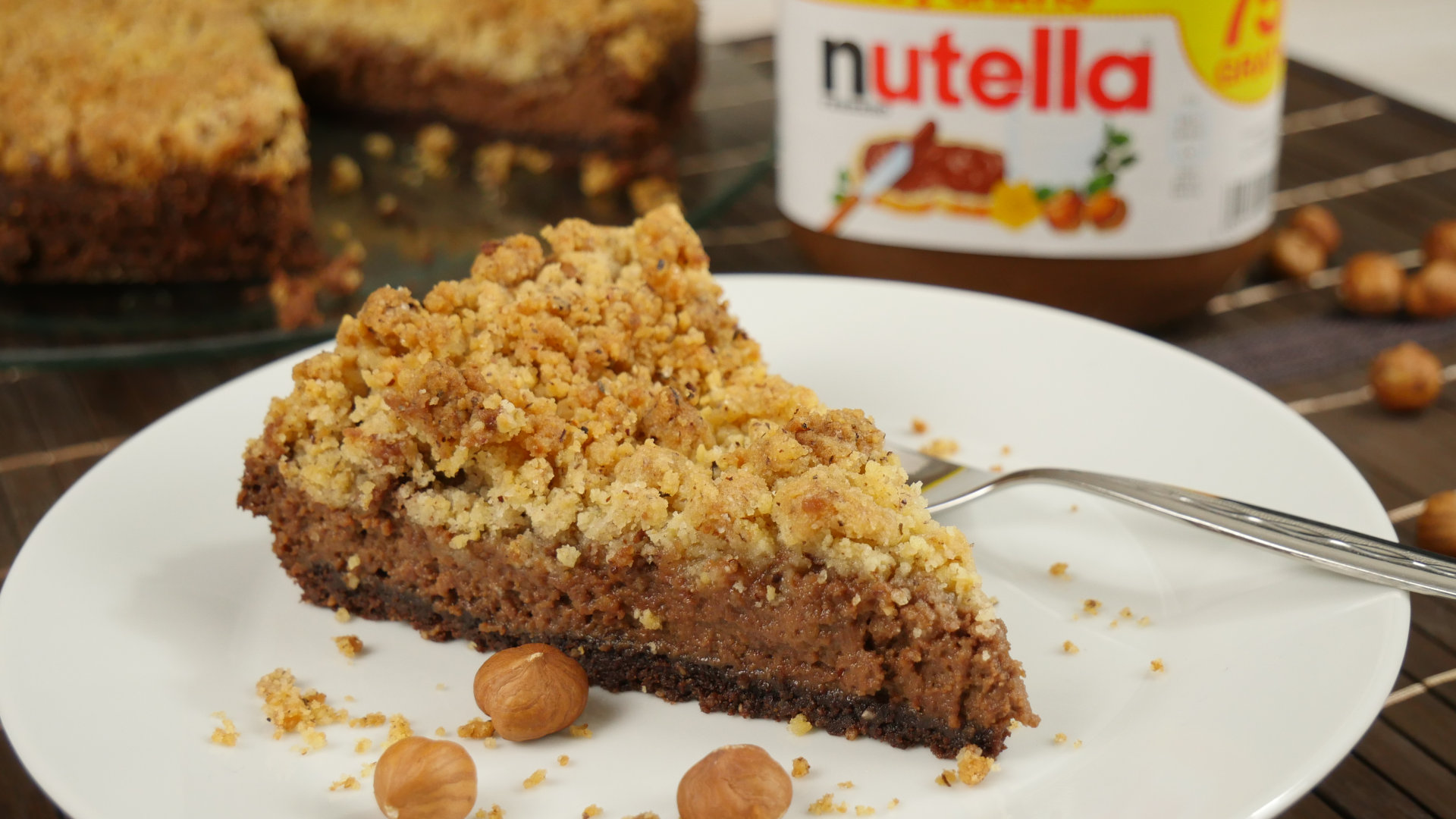 Rezept Nutella Streuselkuchen