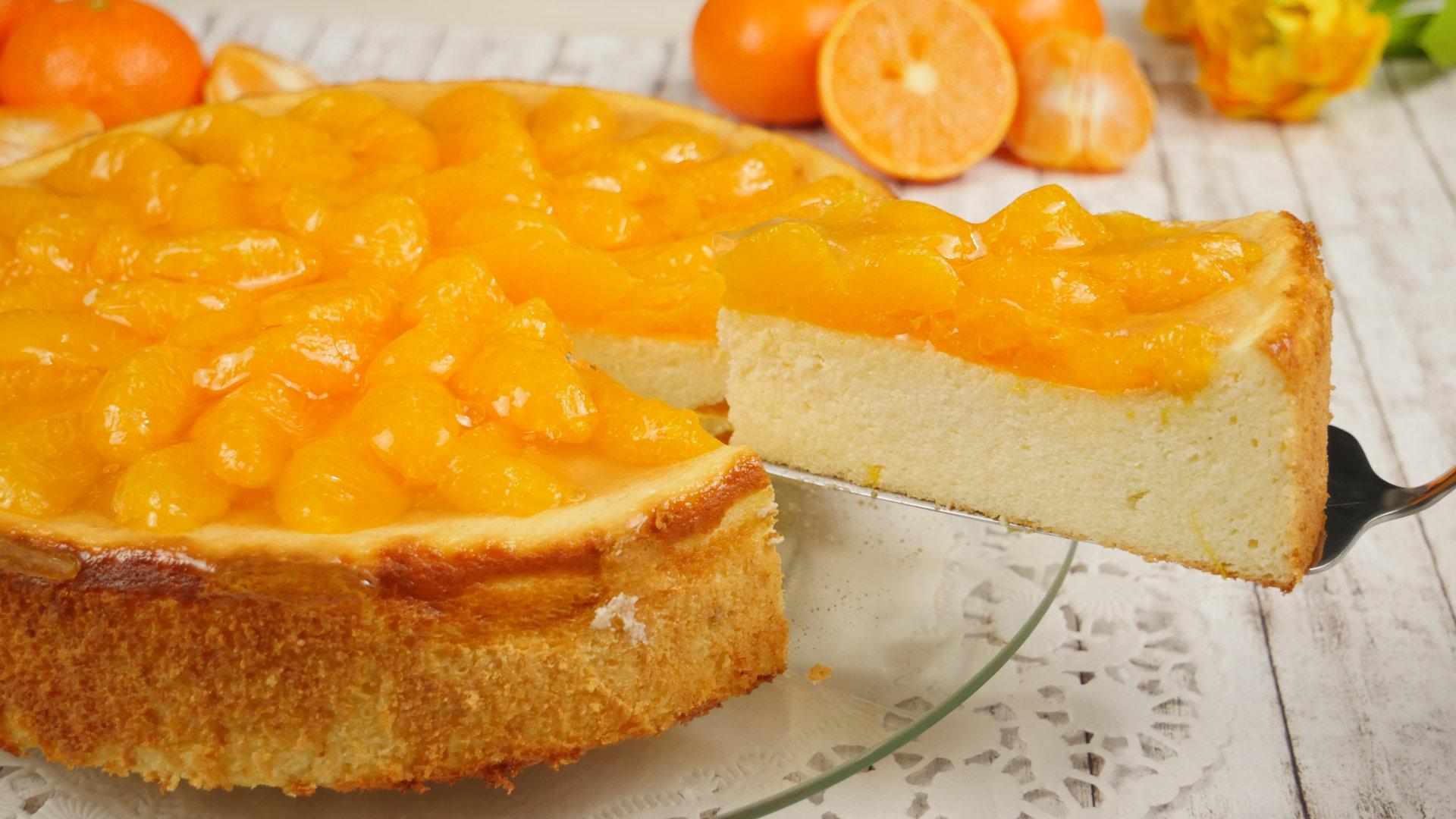 Rezept Mandarinen Käsekuchen Ohne Boden Frischer Saftiger