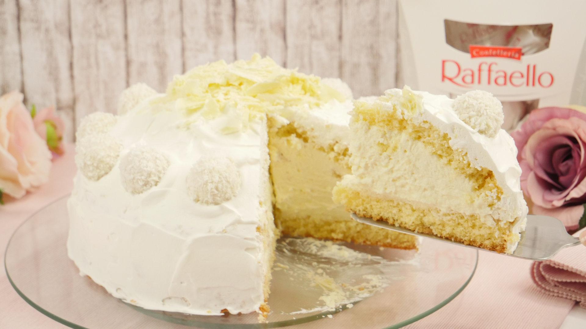 Raffaello torte rezept ohne sahne